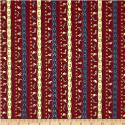 Canyon Trails Canyon Stripe Deep Red