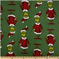 How the Grinch Stole Christmas Dreamie Holiday Micro Fleece Green
