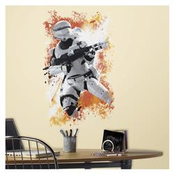 Star Wars Ep VII FlameTrooper Wall Decal