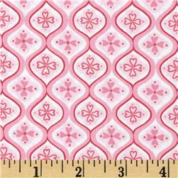 Moda Surrounded By Love Tiles Sweetheart Pink