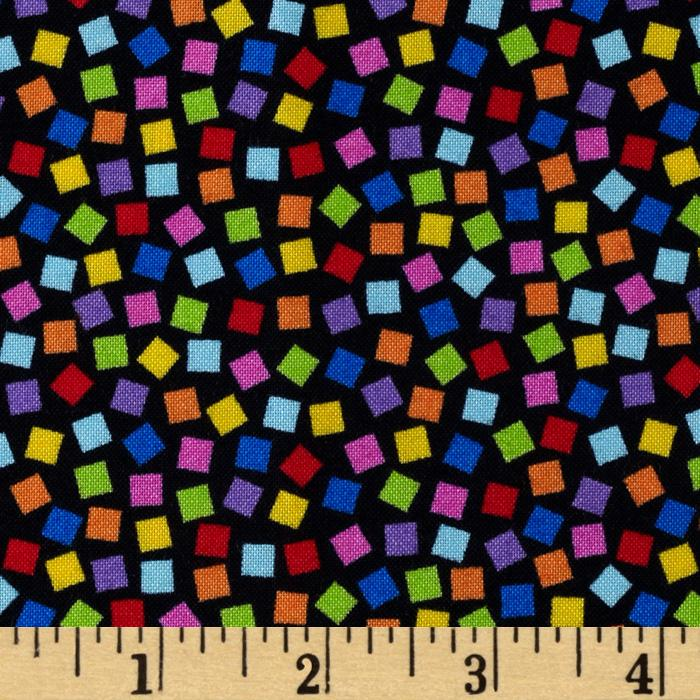 Peanuts-Project Linus Confetti Toss Black/Multi