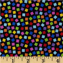 Peanuts-Project Linus Confetti Toss Black/Multi Fabric