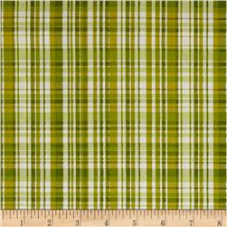 Poppy Garden Garden Plaid Olive
