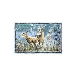 Winter Whispers Deer 29 In. Panel Multi