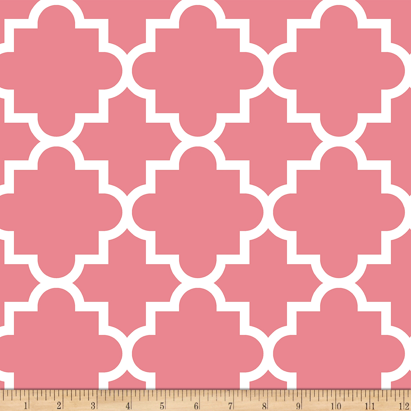 Image of Bolt By Girl Charlee Desert Sky Jersey Knit Quaterfold Pink Fabric
