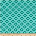 "Dixie 108"" Wide Diamonds Aqua"