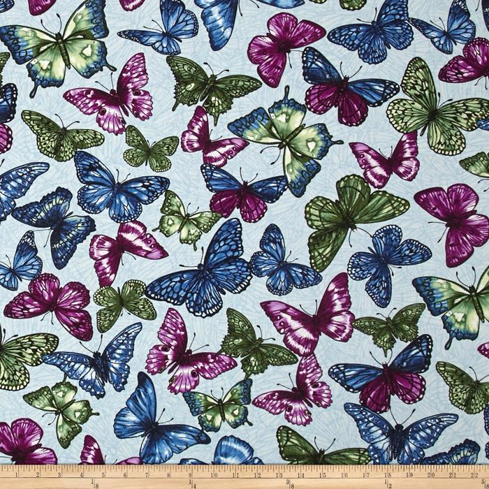 Butterfly Forest Butterflies Blue/Multi
