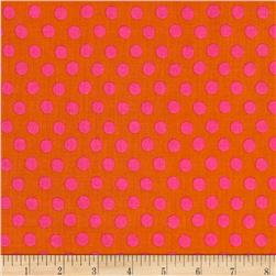 Kaffe Fassett Collective Spot Tobacco Fabric