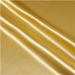 Poly Charmeuse Satin Sun Gold Fabric