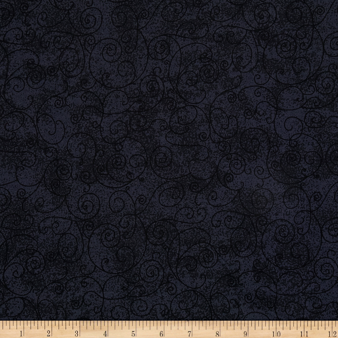 110 In. Wide Quilt Back Willow Charcoal Fabric by Westrade in USA