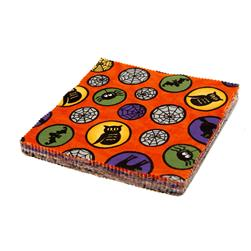 "Moda Pumpkin Party 5"" Charm Pack Multi"