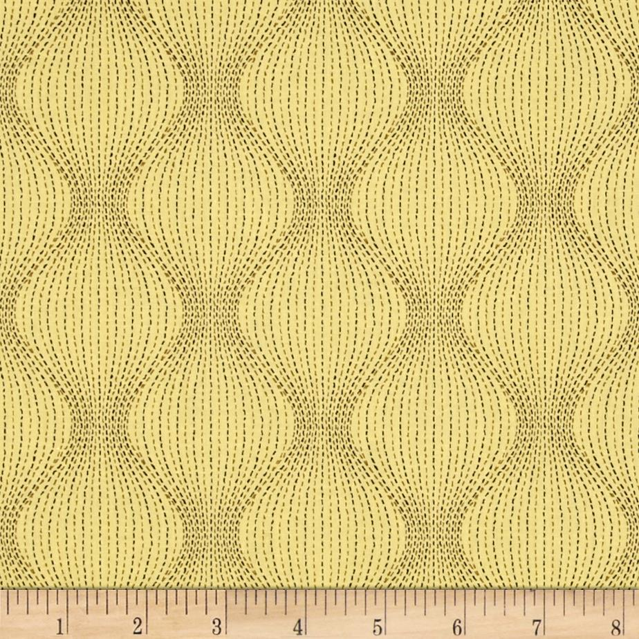 Kaufman Studio Stash 3 Bulging Stripe Sand