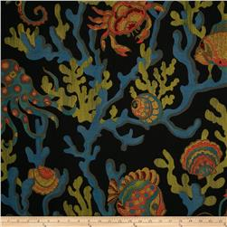 Swavelle/Mill Creek Crab Walk Jacquard Black