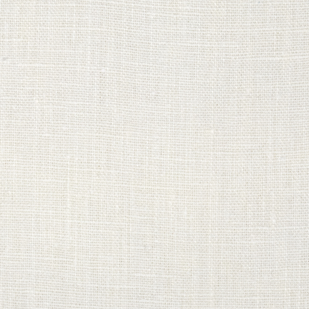 European 100% Washed Linen White Fabric by Noveltex in USA