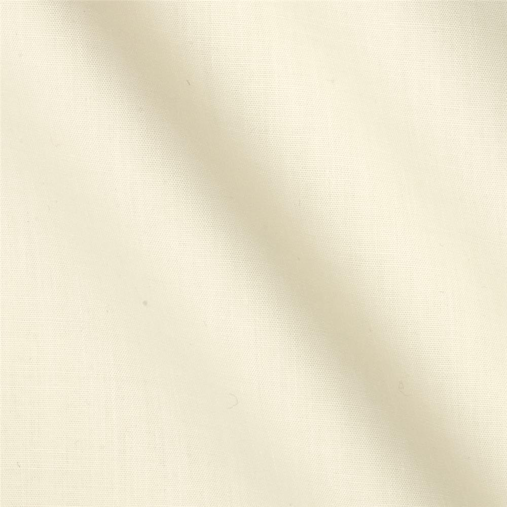 Cotton Blend Broadcloth Vanilla