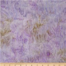 Artisan Batik: Enchanted Squiggle Stripes Violet