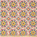 Tempo Indoor/Outdoor Suzani Circles Off White