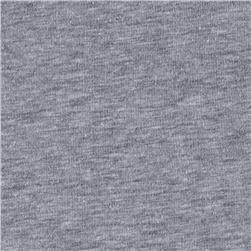 Cotton Spandex Knit  Heather Grey