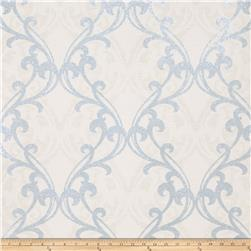Fabricut Gwyneth Wallpaper Blue (Double Roll)