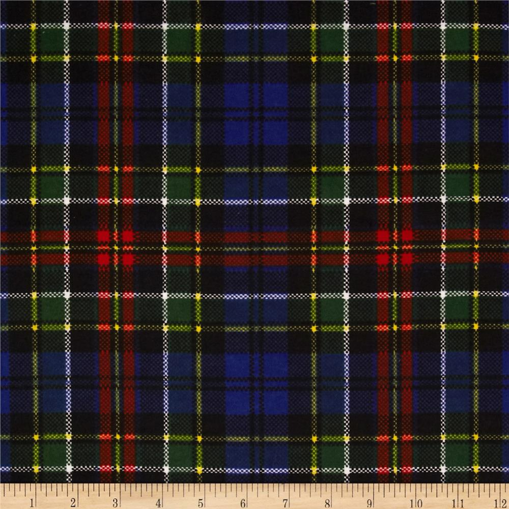 Flannel Scottie Plaid Blue