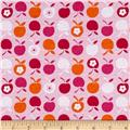 Cotton Blend Children's Jersey Knit Apples