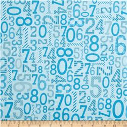Riley Blake Surprise! Numbers Blue
