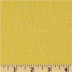 Swiss Dot Bright Yellow