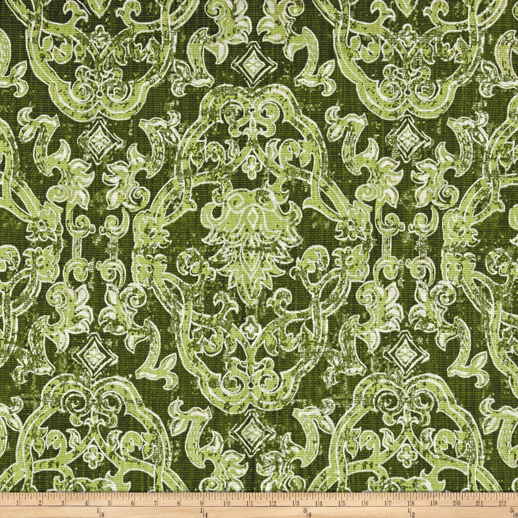 Lacefield Contessa Basketweave Olive Beck Fabric by Lacefield in USA