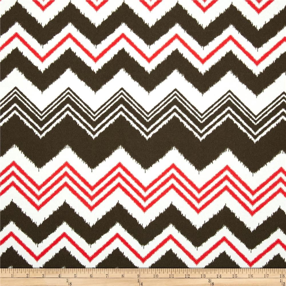 Premier Prints Indoor/Outdoor Zazzle Bay Brown