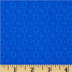 Loft Stretch Jacquard Blue