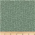 Stof Dot Mania Small Circles Dark Sage