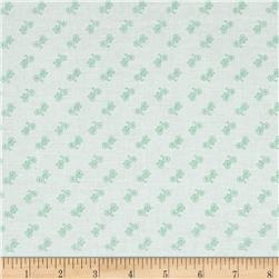 Riley Blake Bee Backgrounds Bicycle Mint