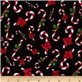 Loralie Fairy Merry Christmas Candy Cane Crowd Black