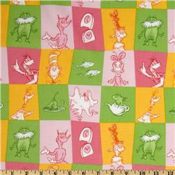 Kaufman Celebrate Seuss 2 Patchwork Rainbow