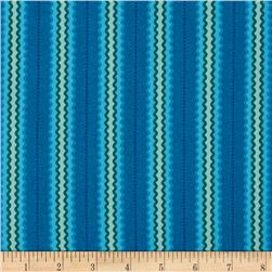 Intrigue Stripe Turquoise