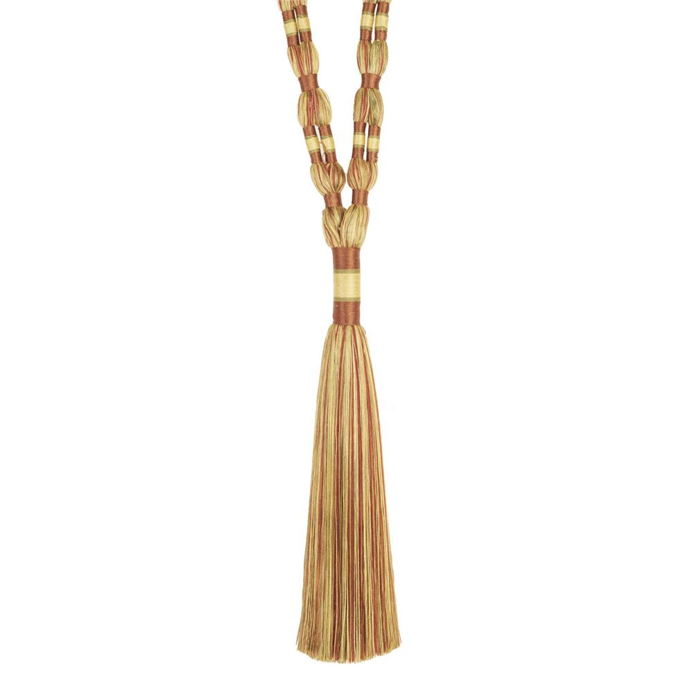 "Trend 33"" 02660 Single Tassel Tieback Clay"