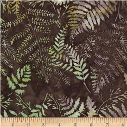 Timeless Treasures Tonga Batik Sonoma Ferns Brush