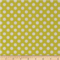 Jungle Polka Dot Lime