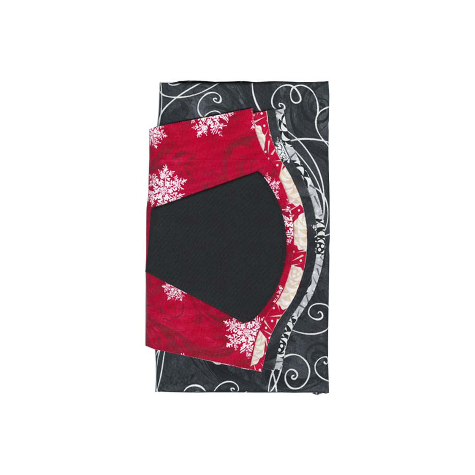 Fabric.com Christmas Dresden Plate 40'' Kit Multi - Exclusive