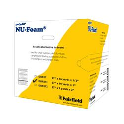 "Fairfield Poly-Fil Nu-Foam 27"" x 10yds x 1""  Roll"
