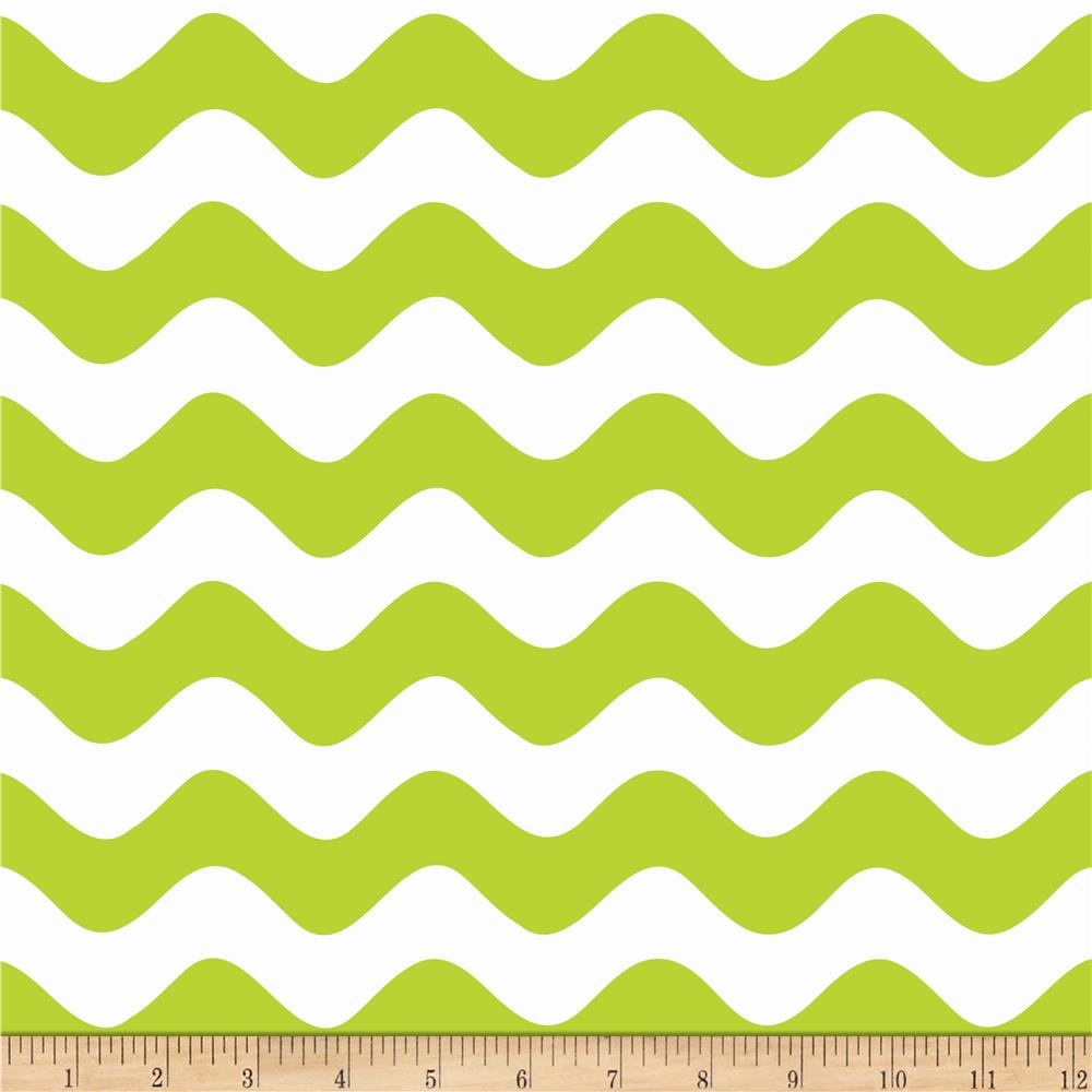 Riley Blake Wave Lime