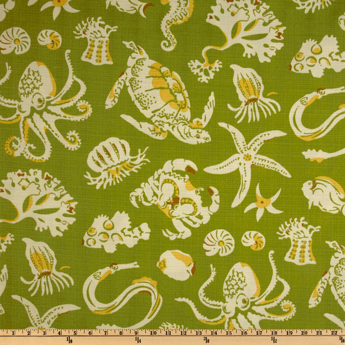 Tommy Bahama Indoor/Outdoor Sea Sparkle Tropic Fabric
