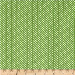 Hello Jane Herringbone Green