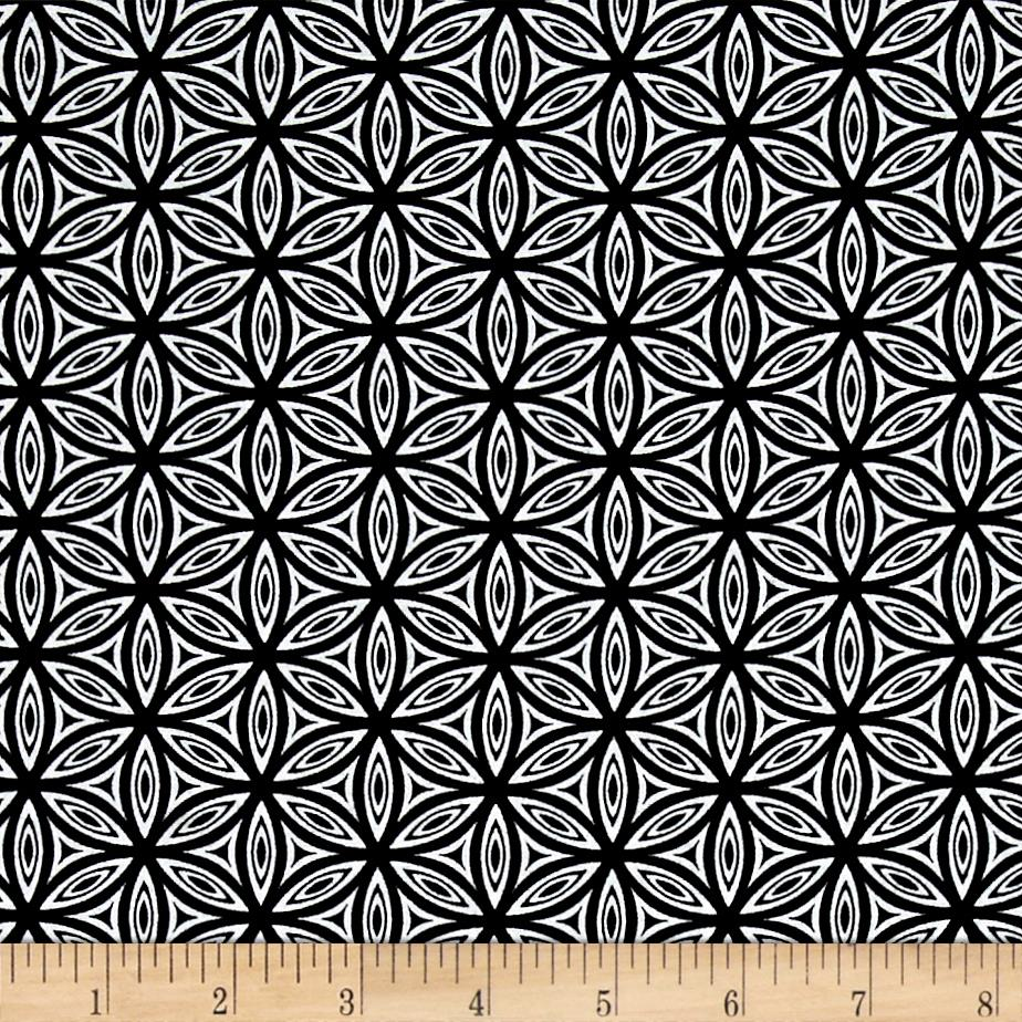 Transformation  Flower of Life Vari.3 Black/White