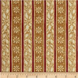 Noel Holly Stripe Gold