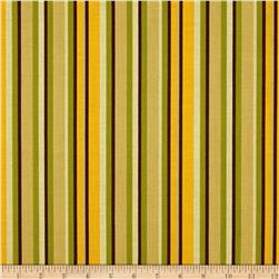 Riley Blake Giraffe Crossing 2 Stripe Green