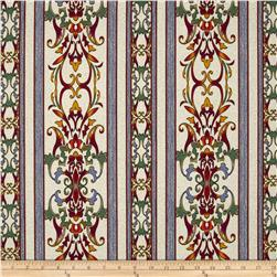 Carnival Scroll Border Taupe