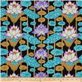 Kaffe Fassett Lotus Stripe Black