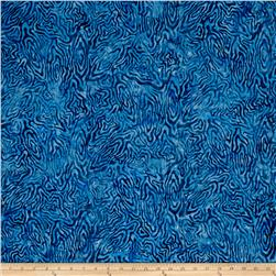 Batavian Batiks Rippled Reflections Blue
