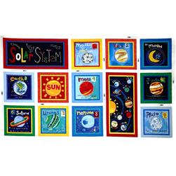 Out Of This World Solar System Blocks Panel